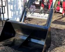 Pala Cargadora Frontal Mdq Para Tractores 40/60 Hp