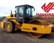 Compactador Liso Liugong 614 130hp 14tn Entrega Y 12 Cheques