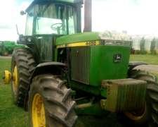 Tractor John Deere 4455
