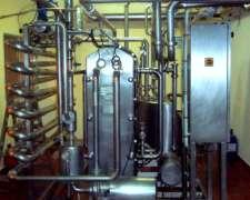 Pasteurizador De Leche Para Terneros 500 Lts/hs