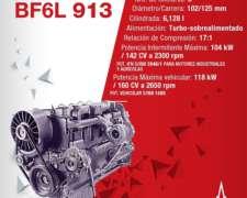 Motores Semi Armados Deutz Bf6l 913 Turbo