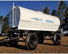 Acoplado Tanque Cisterna de Chapa para 7000 Lts.