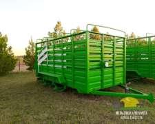 Carro Vaquero - Metalúrgica Menonita