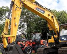 Excavadora Lovol FR220 Motor Cummins 22 TN Tomamos Permutas