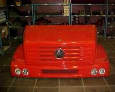 Trompa Mercedes Benz 1620 1634 1633 1215 1618 1218 Capot