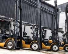 Autoelevador Desplazador 2500kg Powershift Lovol Fd525t-a