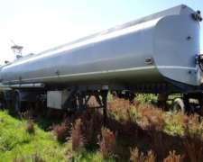 Vendo Semi Tanque de 35.000l 4 Cisternas de Acero al Carbono