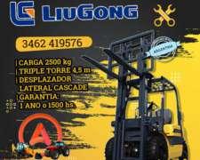 Autoelevador Liugong Cpcd 25