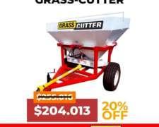 Fertilizadora Grass Cutter Bidisco 1500 Lts.