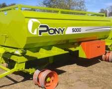 Tanque de Combustible Pony 5000