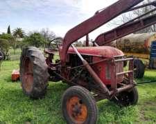 Tractor Hanomag R45 con Pala
