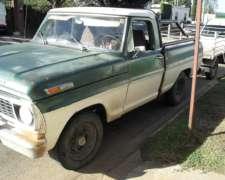 Vendo Ford 100 Diesel