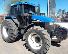 Tractor New Hollands TS 120 , Cabina 3 PUNTOS,ROD.23.1.30