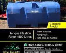 Tanque de 4.500 Rotor Horizontal Plastico