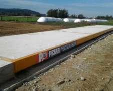 Bascula de Camiones Electrónica de 20 X 3 M