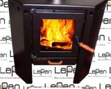 Calefactor Lepen Rinconero A Leña 10000 Kcal