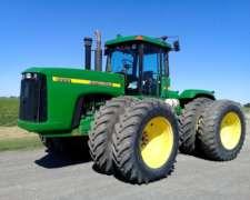Tractor John Deere 9200 año 2001