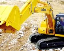 Excavadora Liugong 920 Cummins