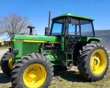 Tractor John Deere 3350 Doble Tracción - Financiacion