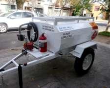Acoplado Proveedor de Combustible Homologado 1000 Lts