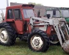 Fiat Agri DT 120 HP con Pala Rodado 18.4.34
