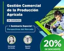 Gestión Comercial de la Producción Agrícola 20% OFF