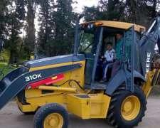 Retroexcavadora John Deere 310k - Como Nueva 1500 Horas