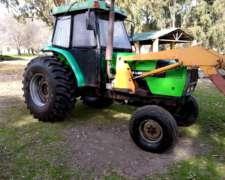 Tractor Agco Allis 6.125, con Pala Frontal, año 2005