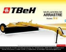 Niveladora de Arrastre N4 Tbeh
