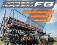 Barra Fertilizadora/incorporadora Btiagri - 9 de Julio