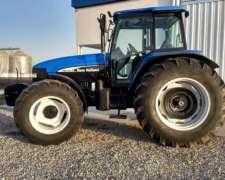 Tractor NH TM 135, año 2006