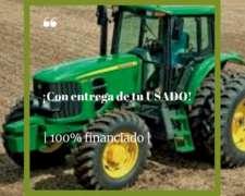 Tractor John Deere 6150j de 150, con Cabina