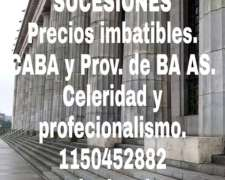 Sucesiones Prov BS AS. Prec Imbatible Www.asist-legal.com.ar