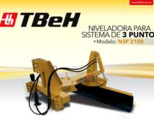 Niveladora Tres Puntos Tbeh N3P 2100