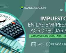 Impuestos en las Empresas Agropecuarias