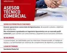 Asesor Técnico Comercial - Agroinsumos