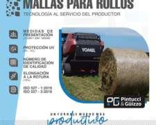 Mallas para Rollos Timex. 3600 Mts.