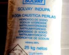 Soda Caustica Indupa Perlada 99 %