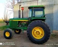 Tractor John Deere 4930 con Cabina Original Rodado Paton