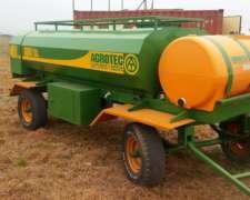Cisterna Combinada 3000 Litros Con Baulera Deposito De Agua