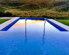 Hermosa Casa De Campo Frente Al Río En Las Sierras De Córdob