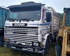 Vendo Permuto Scania con Acoplado