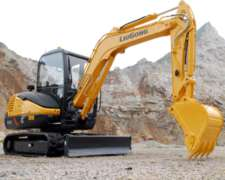Excavadora Liugong CLG 904d