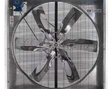 Ventilador Gran Caudal Tambo 1,4 M X 1,4 M Trifasico Inox