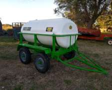 Tanque Cisterna Apoyo de 3000lts Metalfor para Fumigador