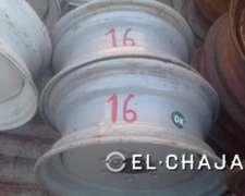 Llanta Agricola para Tractor 16 (6 Agujeros).-
