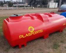 Tanque Plástico Horizontal 3750 Litros Plasforte