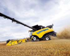 Cosechadora New Holland CR 10.90 Nueva Record en Cosecha