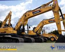 Excavadora a Orugas Lovol Fr220d Cummins Kawasaki