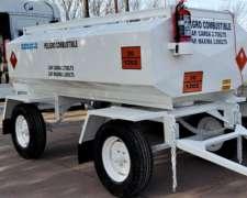 Acoplado Cisterna para 3.000 Lts. 2 Ejes